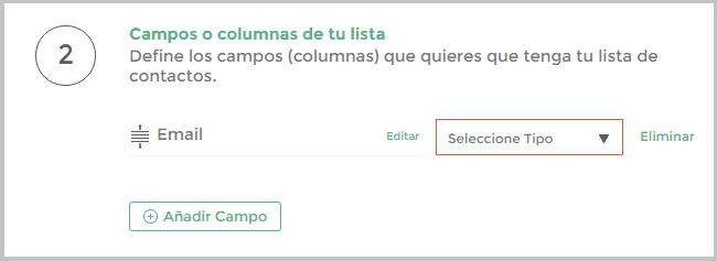 Campo email