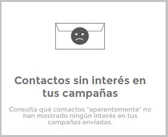 Contactos sin interés en tus campañas