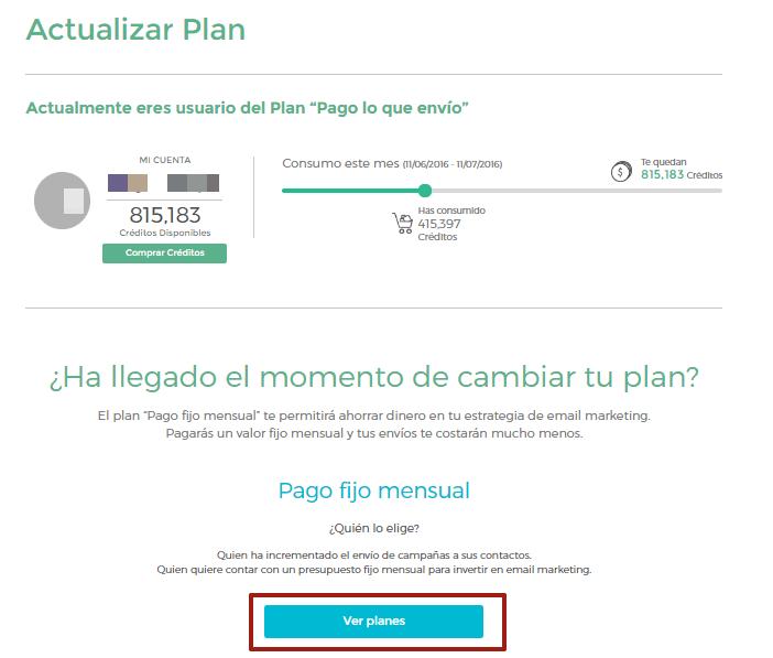Actualizar plan