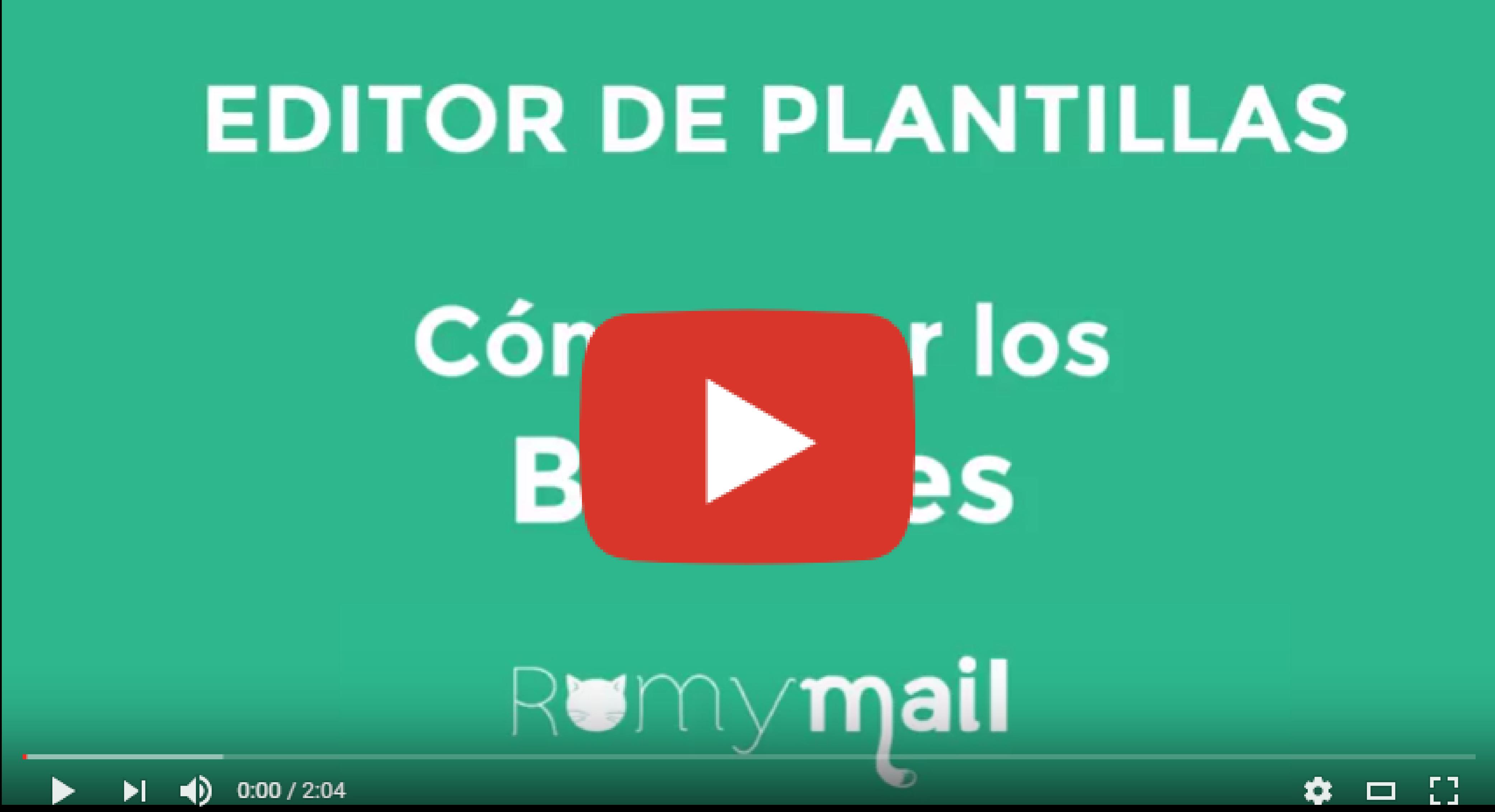 Cómo incluir botones con el Editor de Plantillas