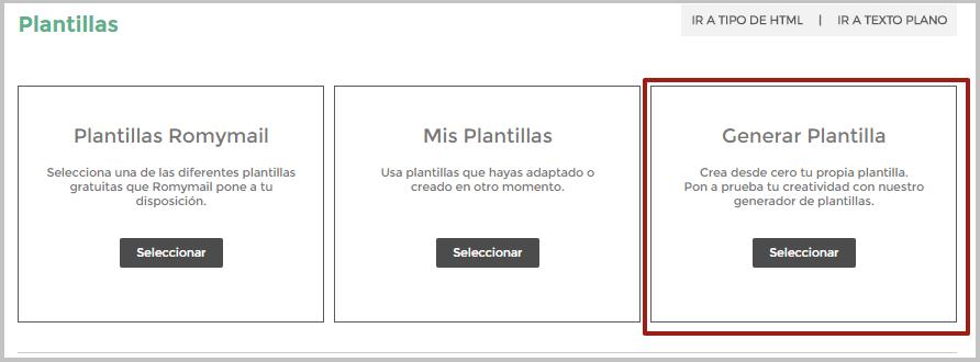 Generar Plantilla